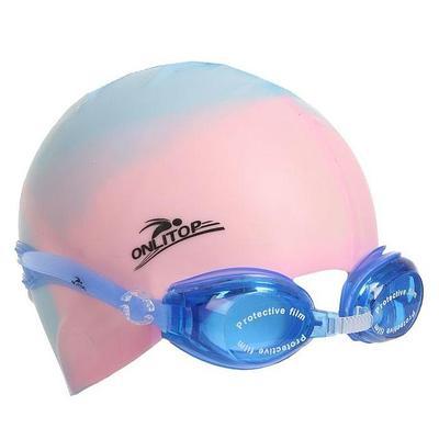 Очки и шапочки для плавания