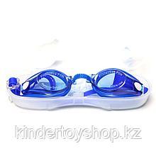 Очки для плавания Yongbo в футляре  и ребенку и взрослому.