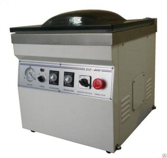 Настольная вакуум-упаковочная машина HUALIAN HVC-400/2Т (нерж. сталь)