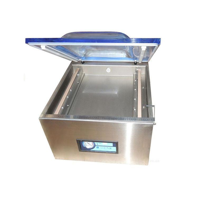 Настольная вакуум-упаковочная машина HUALIAN DZQ-500T (нерж., газ)