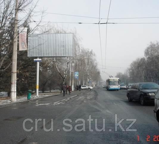 Западнее пр. Алтынсарина, севернее ул. Шаляпина
