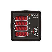 Мультиметр Datakom DKM-401, 96x96 мм