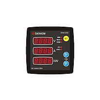 Анализатор сети постоянного тока Datakom DKM-250, 96x96мм, RS-485, DC