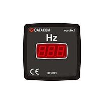 Цифровой щитовой частотомер Datakom DF-0101 72x72 (1-фазный)