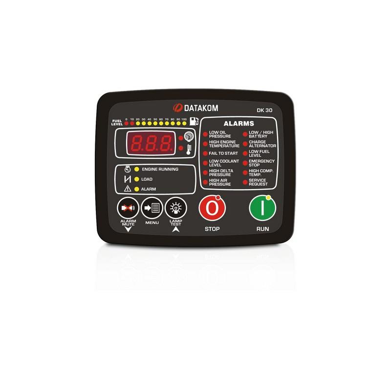 Контроллер управления дизельным компрессором Datakom DK-30