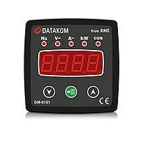 Мультиметр Datakom DM-0101 72*72 1-фазный