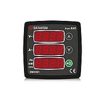 Мультиметр Datakom DM-0301 72х72 1-фазный