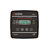 Контроллер компенсации реактивной мощности Datakom DFC-0112 12 шагов + SVC 144x144 мм