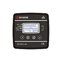Контроллер компенсации реактивной мощности Datakom DFC-0124 128x64 ч/б дисплей (24 шага+RS-485+SVC) 144x144 мм