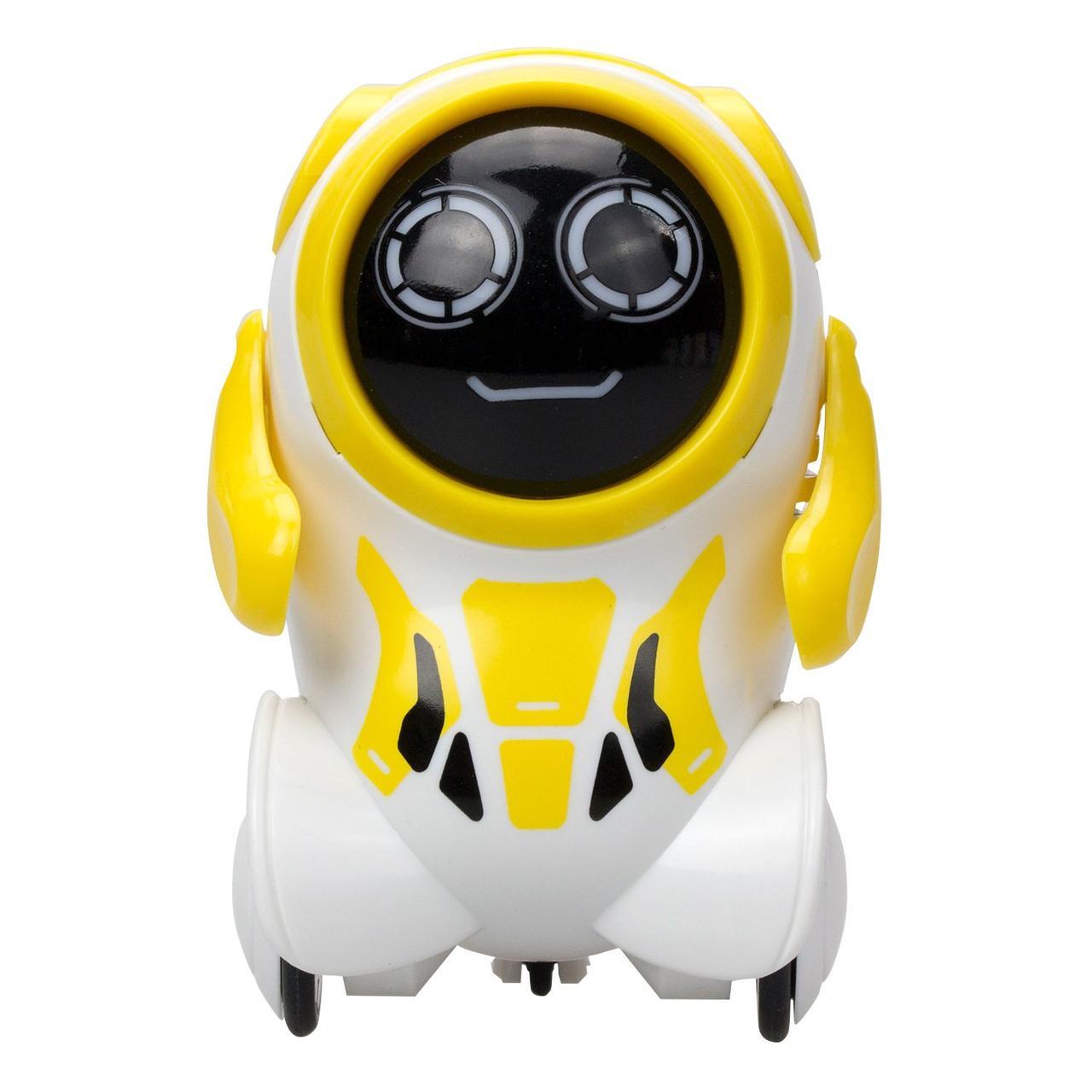 Silverlit Робот Покибот (Pokibot) - желтый круглый