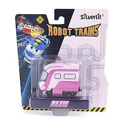 Роботы-поезда, Металлический паровозик Макси