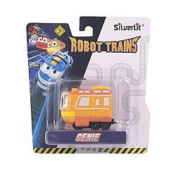 Роботы-поезда, Металлический паровозик Джинни