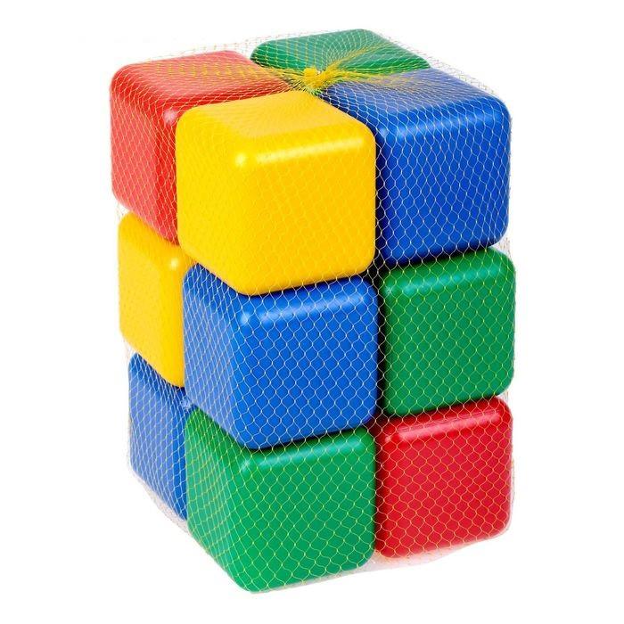 Набор цветных кубиков, 12 штук 12 × 12 см