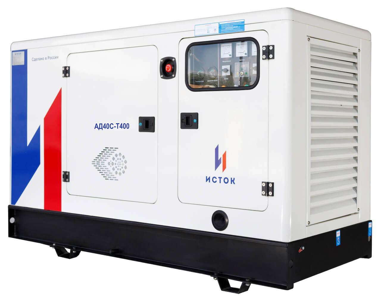 Генератор дизельный Исток АД40С-Т400-РПМ21(е)