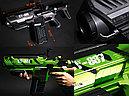 Футуристическая автоматическая винтовка с дополненной виртуальной реальность (AR) + стрельба водяными шарикам, фото 2