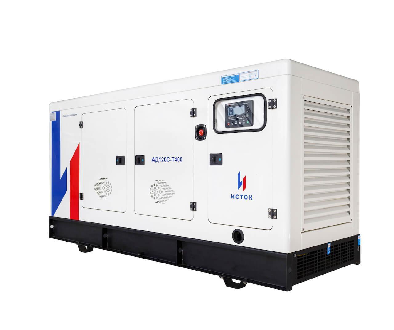 Генератор дизельный Исток АД100С-Т400-2РПМ25