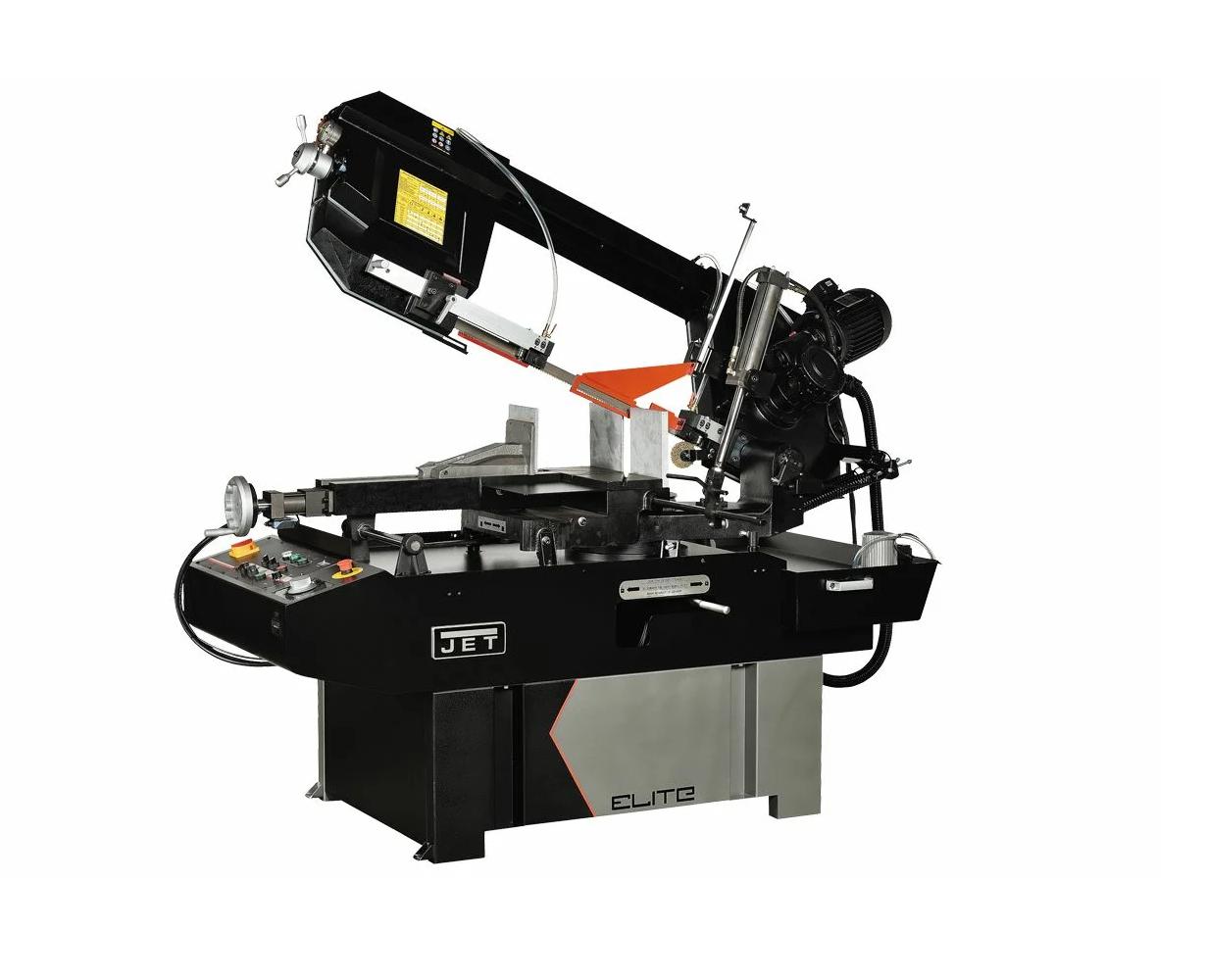 Полуавтоматический ленточнопильный станок JET ELITE EHB-350DGSVIP