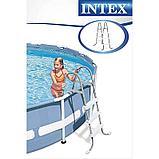 Металлическая Лестница для бассейна для каркасных и надувных бассейнов (91 см), фото 2