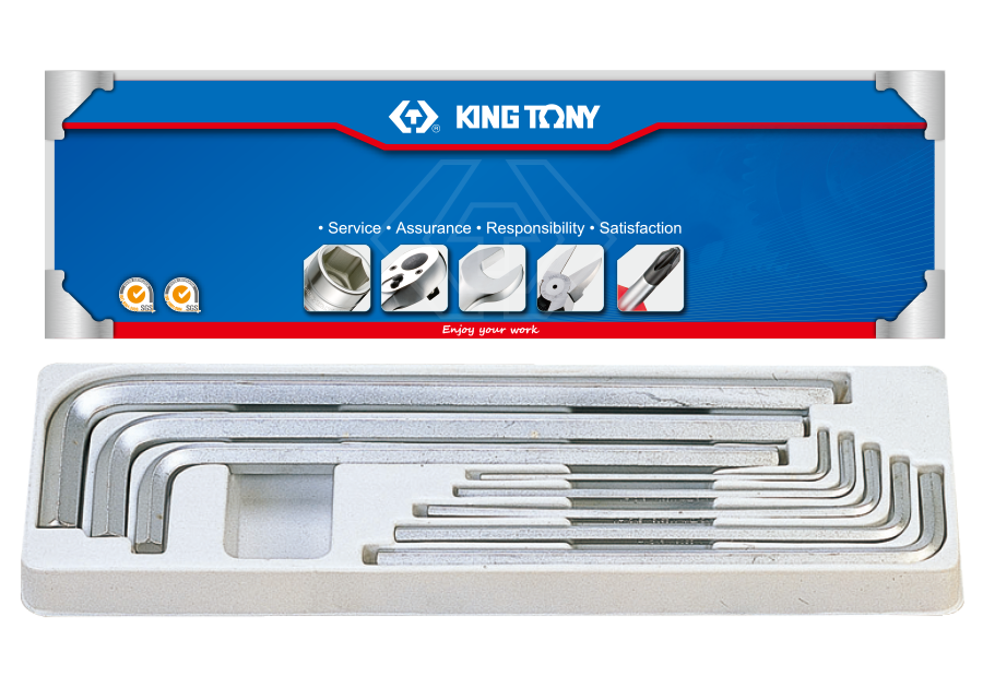Набор шестигранников KING TONY 20208SR01 (8 предметов)