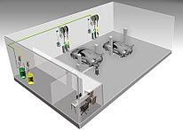 Автоматизированная стационарная система раздачи и учета масла ATIS HPMCO-04-02