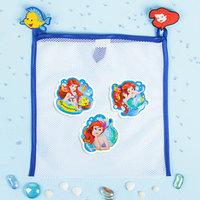 Сетка для хранения игрушек 'Русалочка' Принцессы Ариель набор объемных наклеек