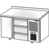 Стол холодильный Polair TM2GN-02-G