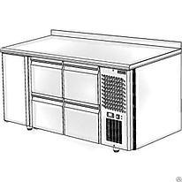 Стол холодильный Polair TM3GN-022-G