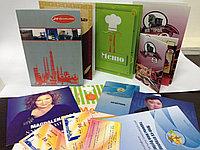Буклеты, брошюры, журналы, меню Астана
