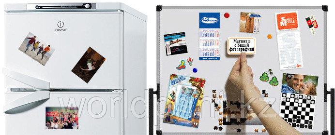 Фотомагниты на холодильник Астана