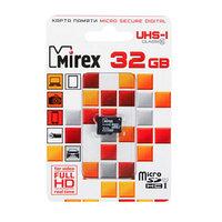 Карта памяти Mirex microSD, 32 Гб, SDHC, UHS-I, класс 10