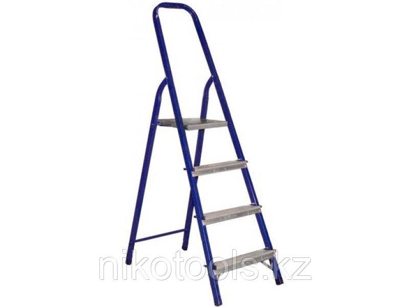 Стальная лестница-стремянка 4-и ступ Н=1,53/2,9 м (М8404)