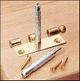 Кернер для разметки отверстий для установки мебельных петель, Starrett 819, D16мм*125мм, фото 2