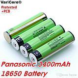 Аккумулятор Panasonic NCR18650B 3400 mAh 18650 Li-ion с защитой (Protected), фото 3