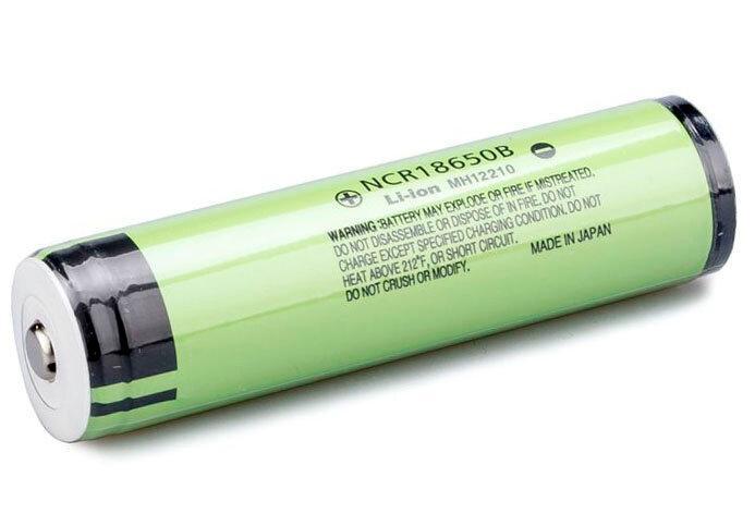 Аккумулятор Panasonic NCR18650B 3400 mAh 18650 Li-ion с защитой (Protected)