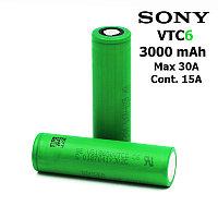 Аккумулятор SONY VTC6 18650 3000 mAh (30А) (US18650VTC6)