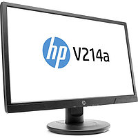 "Монитор HP 1FR84AA V214a 20.7"" LED Monitor 1920x1080@60Hz, 5ms, 0.238 mm, 600:1 (5000000:1), 90/65, VGA, HDMI,, фото 1"
