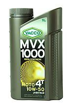 Моторное масло Yacco 10w50 4T moto MVX 1000 1L
