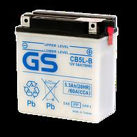 Аккумулятор GS Yuasa CB5L-B (+acidpack, в комплекте с электролитом)