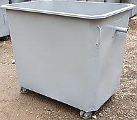 Мусорный бак 1,1м.куб. (на колесах, без крышки) с НДС 12% в т.ч.