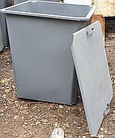 Мусорный контейнер с крышкой (НДС 12% в т.ч.)