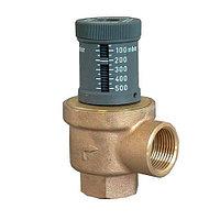 Клапан перепускной Oventrop - Ду20 (PN10, 120°C, настройка 50-500 мбар, бронза/латунь)