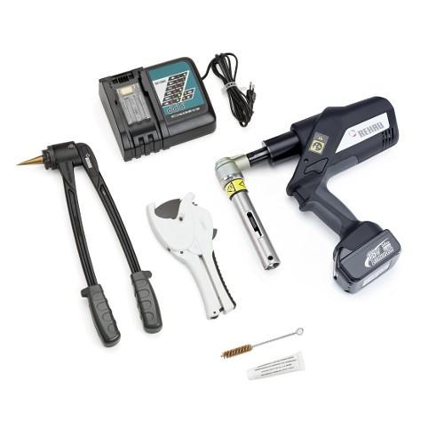 Монтажный инструмент REHAU RAUTOOL A3 (аккумуляторный гидравлический с фонариком, комплект)