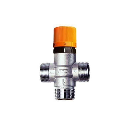 Хромированный термостатический смеситель SOLAR-FAR (FA 3954 1)
