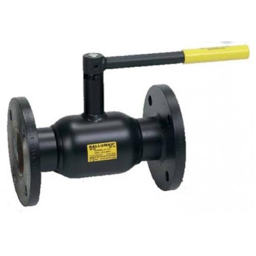 Кран шаровой полнопроходной BROEN BALLOMAX 60 - Ду65 (Фланец/Фланец, PN16, Tmax 150°С, ручка-рычаг)