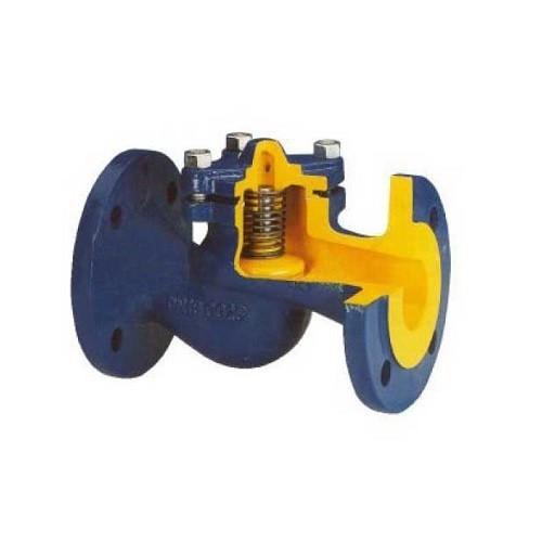 Клапан обратный BROEN V287 - Ду125 (Фланец/Фланец,  PN16, Tmax 300°C, чугун)
