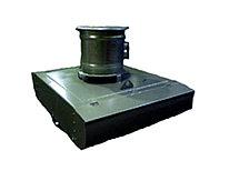 Вентилятор радиальный крышный ВКРФ №4,5