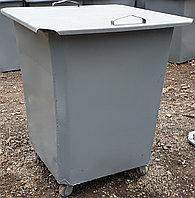 Мусорные контейнеры с крышкой на колесах (НДС 12% в т.ч.)