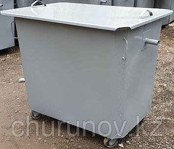 Контейнеры для мусора 1,1 куба, толщина 2мм (НДС 12% в т.ч.)