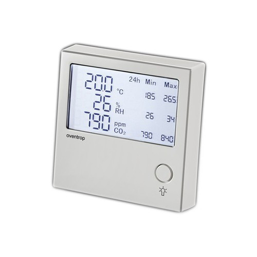 Регулятор температуры комнатный Oventrop i-Tronic (настенный, цвет белый)