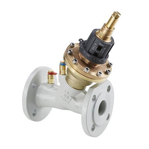 Вентиль комбинированный Oventrop Cocon QFC - Ду50 (фланцевое присоединение)